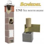Комплект дымохода 140 мм, керамика, Schiedel UNI без вентиляции